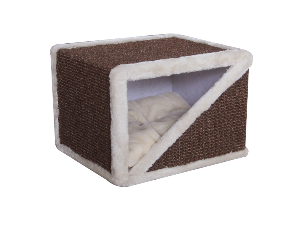 Когтеточка Pet Choice 40x35x30cm Brown PS15