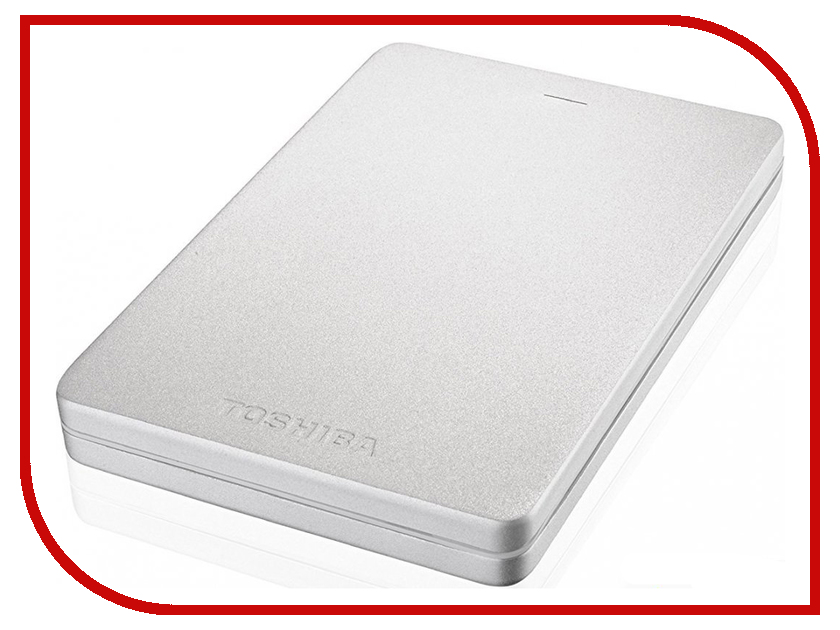 Жесткий диск Toshiba Canvio Alu 500Gb SilverHDTH305ES3AB