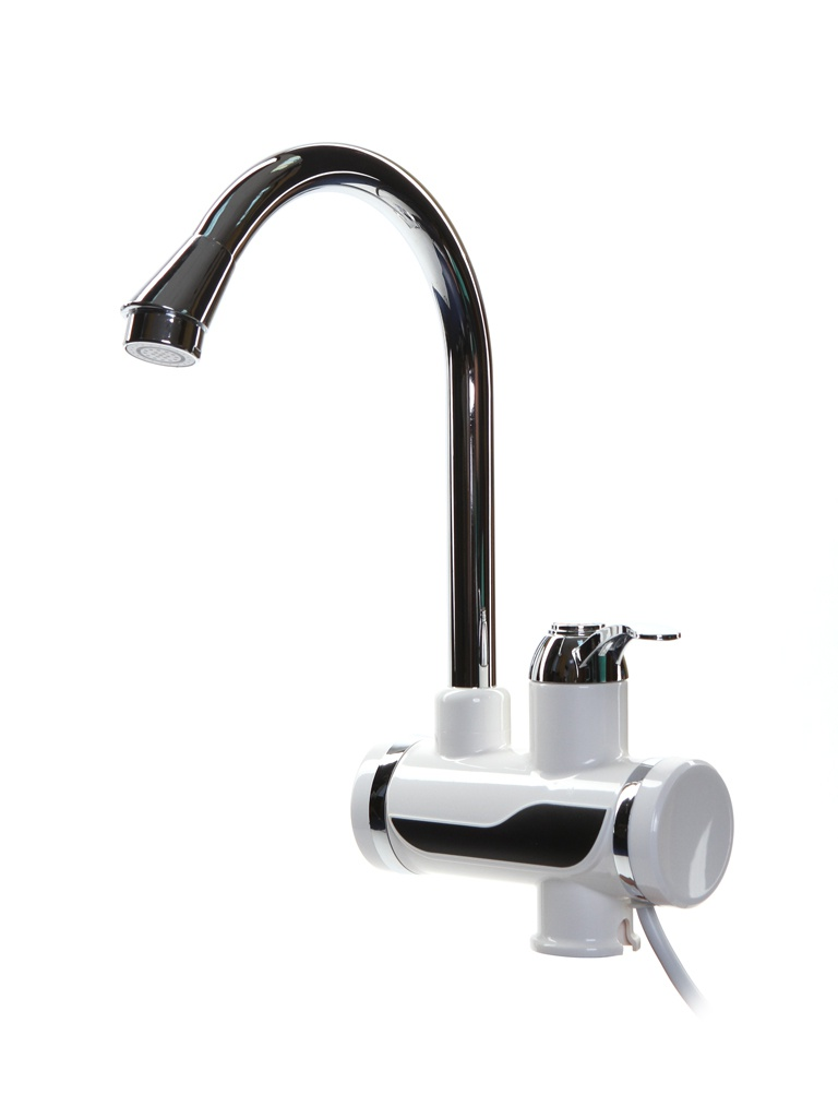 Кран мгновенного нагрева воды Unipump BEF-012-02 80-0304 кран водонагреватель проточного типа unipump bef 003 178