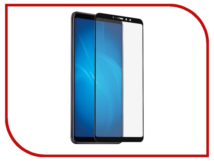 Аксессуар Защитный экран для Xiaomi Mi Max 3 Red Line Full Screen Tempered Glass Full Glue Black УТ000017369 аксессуар стекло противоударное для xiaomi mi 5s plus gurdini 2d full screen 0 26mm black