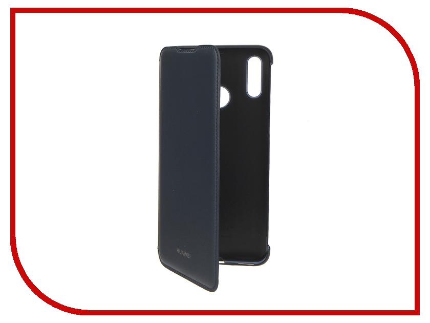 Аксессуар Чехол для Huawei P Smart 2019 Flip Blue 51992895