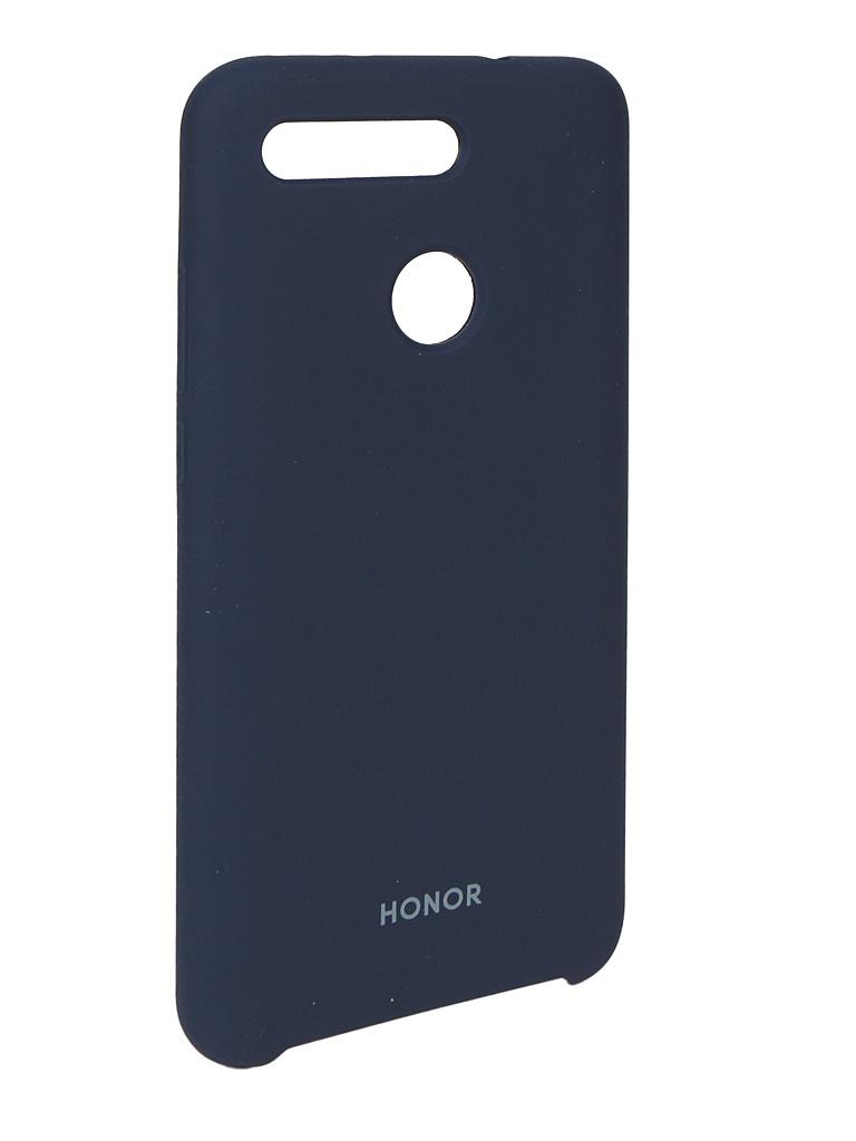 Аксессуар Чехол для Honor View 20 Silicon Case Blue 51992808