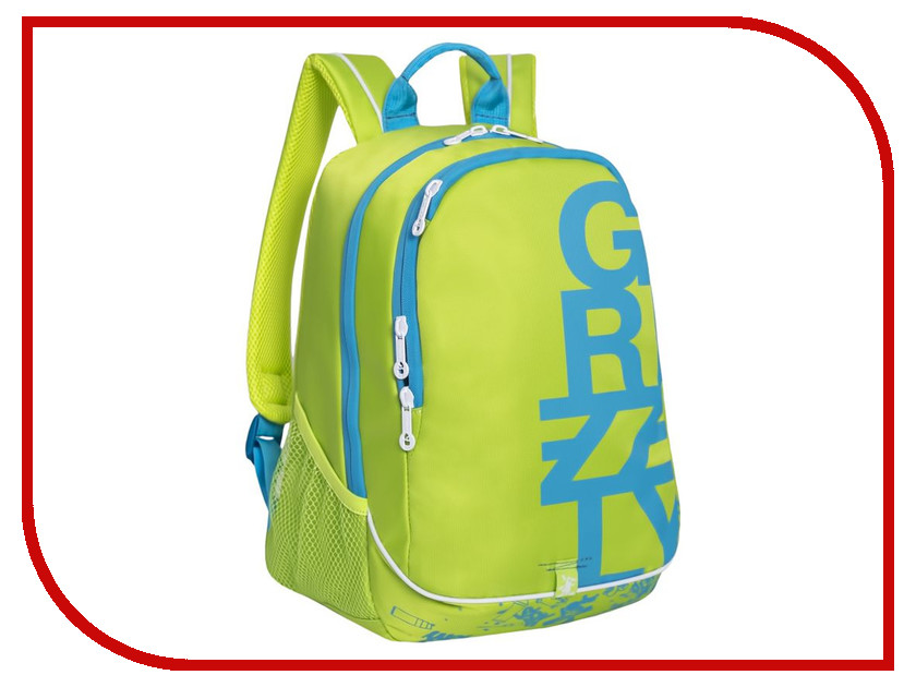Рюкзак Grizzly RU-724-1/3 Light Green