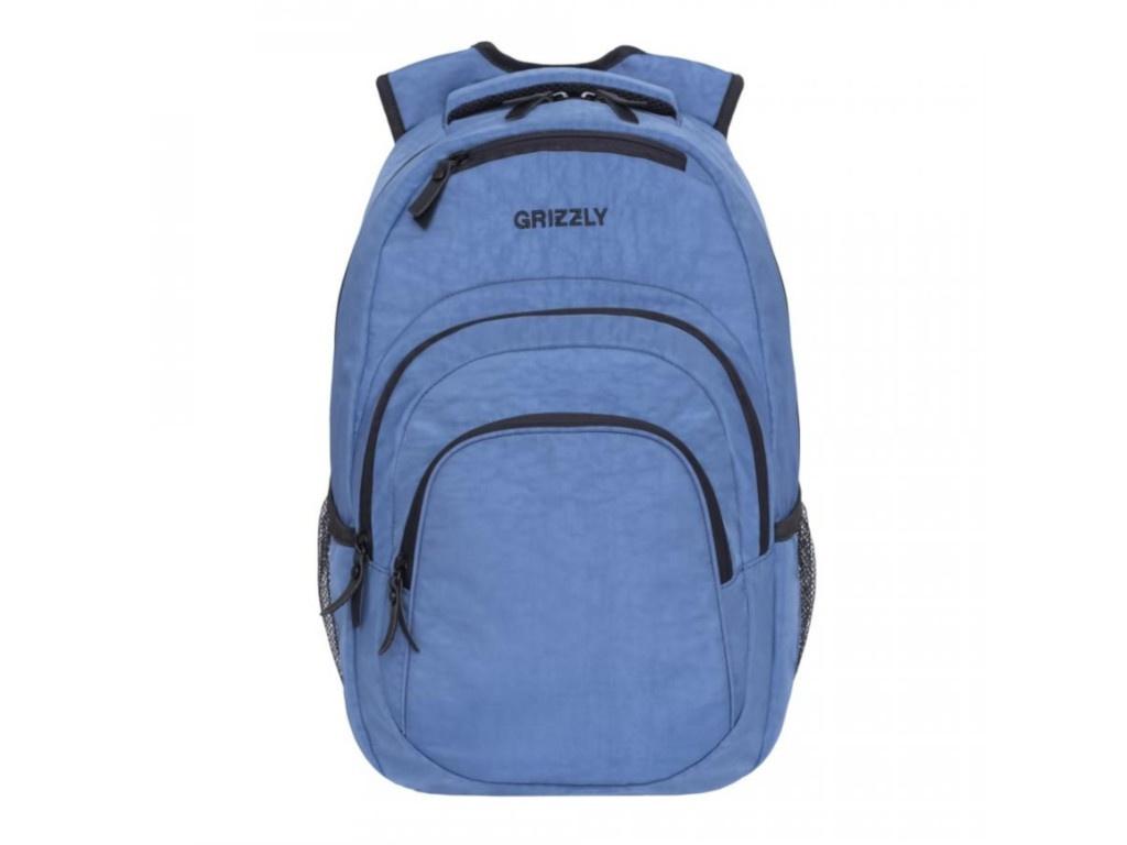 Рюкзак Grizzly RQ-900-1/4 Denim