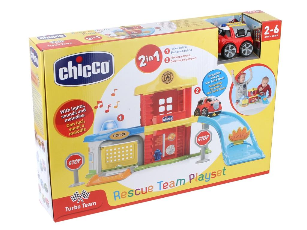 Игрушка Chicco Пожарная и полицейская станция 00009358000000