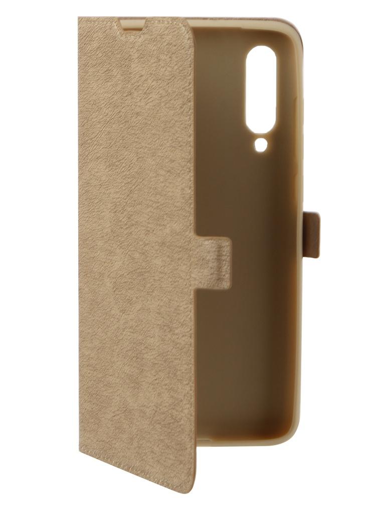 Аксессуар Чехол DF для Xiaomi Mi 9 xiFlip-39 Gold стоимость