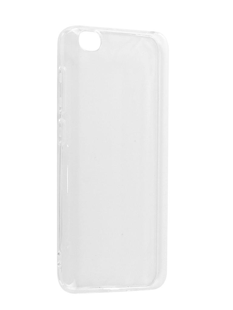 Аксессуар Чехол DF для Xiaomi Redmi Go Silicone xiCase-44 Transparent