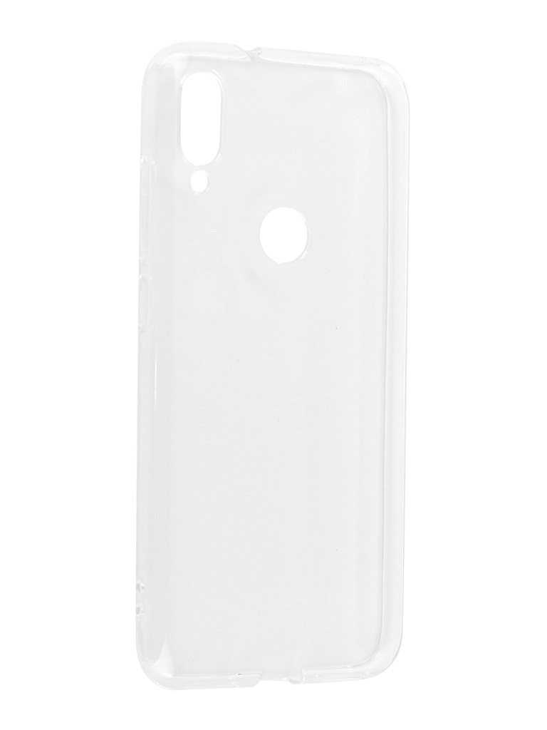 Аксессуар Чехол DF для Xiaomi Mi Play Silicone Super Slim xiCase-41 Transparent