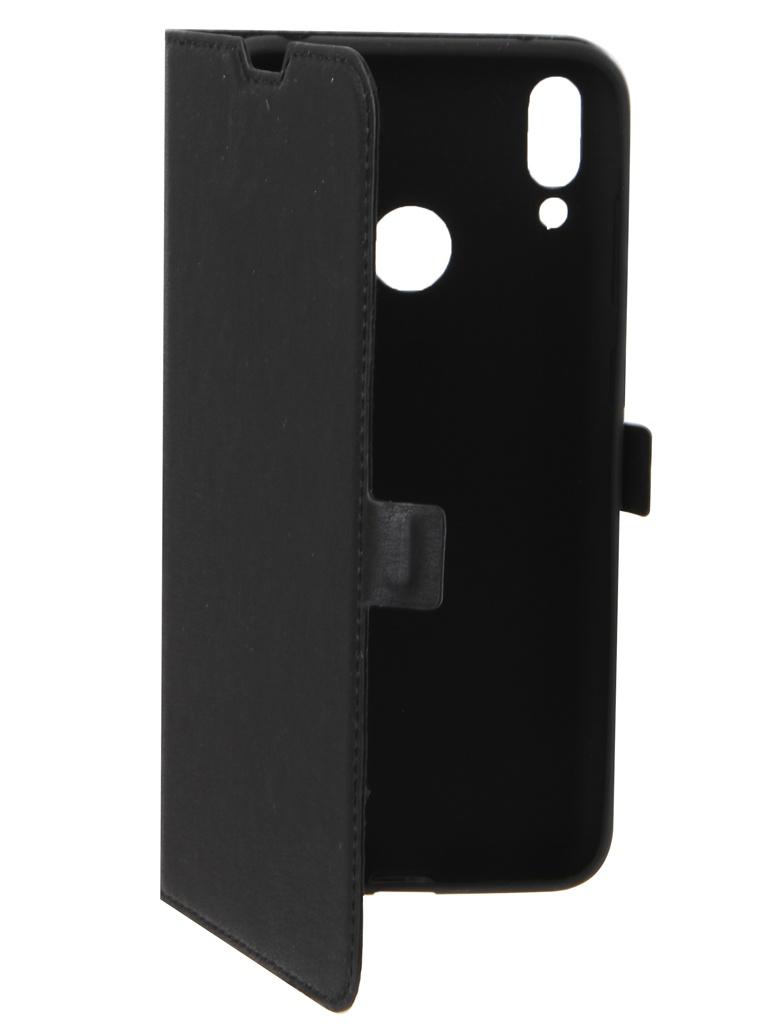 Аксессуар Чехол DF для Huawei Y7 2019 hwFlip-59 Black цена
