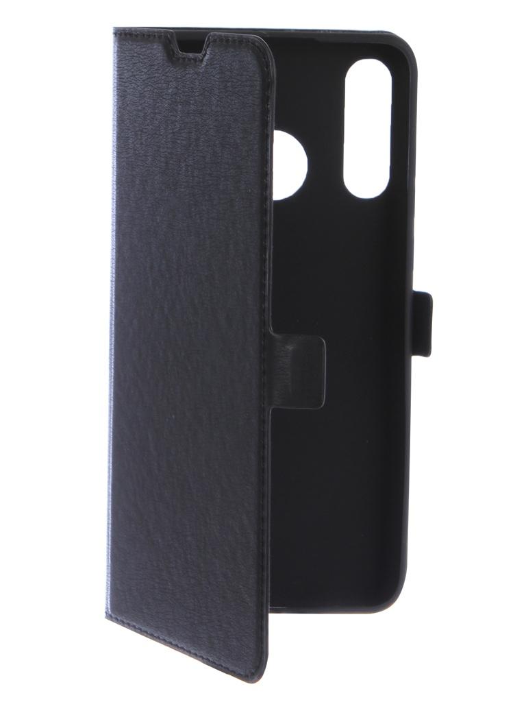 Аксессуар Чехол DF для Huawei P30 Lite hwFlip-58 Black
