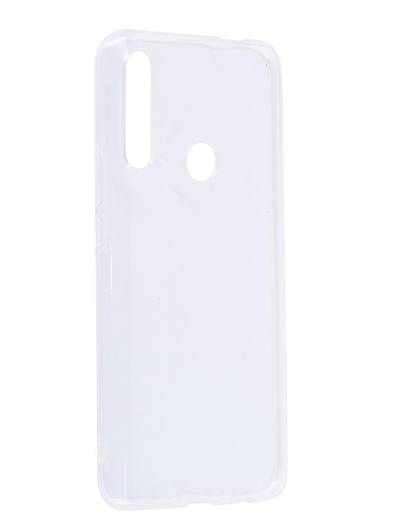 Аксессуар Чехол DF для Huawei Honor 8A Pro Silicone Super Slim hwCase-77 Transparent цена