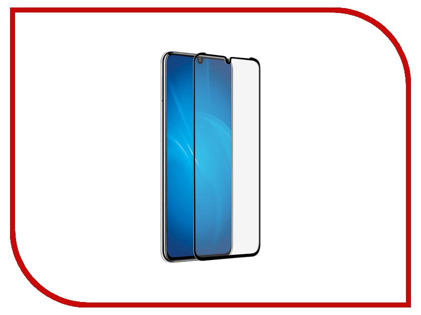 Аксессуар Закаленное стекло для Huawei P30 Pro DF 3D Full Screen hwColor-94 Black аксессуар df czebra 01 blue black
