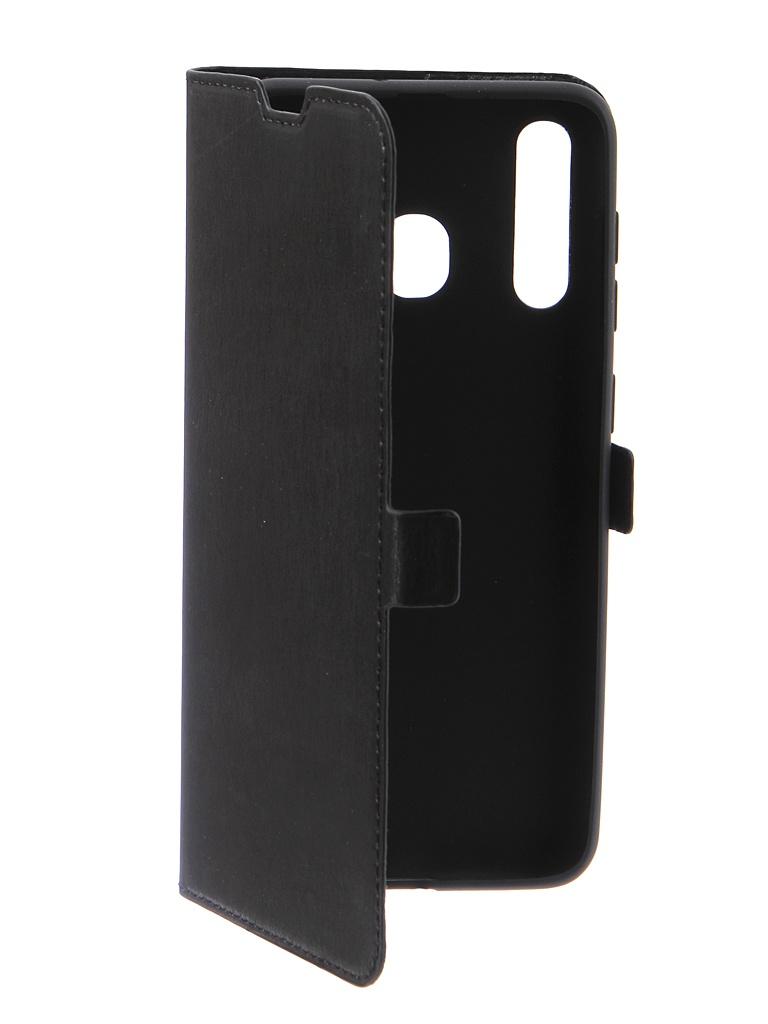 Аксессуар Чехол DF для Samsung Galaxy A20 / A30 sFlip-41 Black