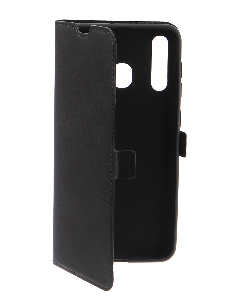 Аксессуар Чехол DF для Samsung Galaxy A20 / A30 sFlip-41 Black аксессуар чехол аккумулятор samsung galaxy s6 df sbattery 18 black