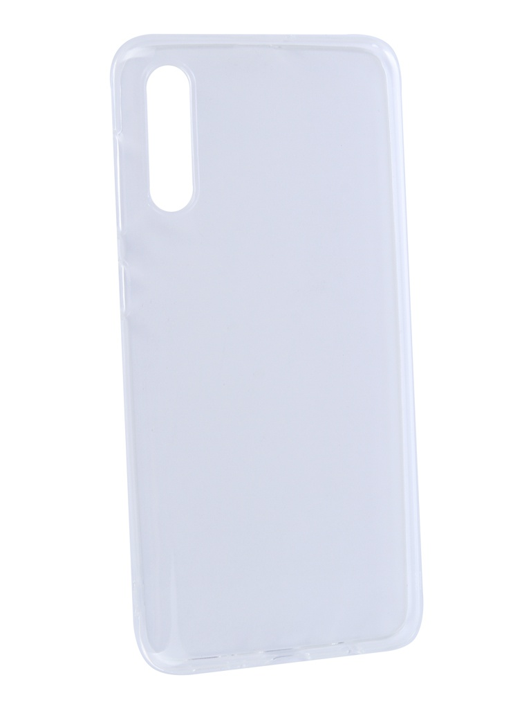 все цены на Аксессуар Чехол DF для Samsung Galaxy A50 Silicone Super Slim sCase-76 Transparent онлайн