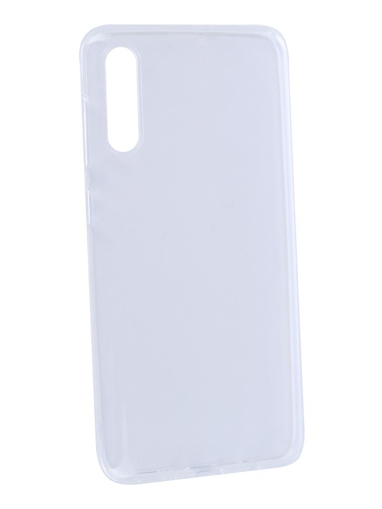 Аксессуар Чехол DF для Samsung Galaxy A50 Silicone Super Slim sCase-76 Transparent