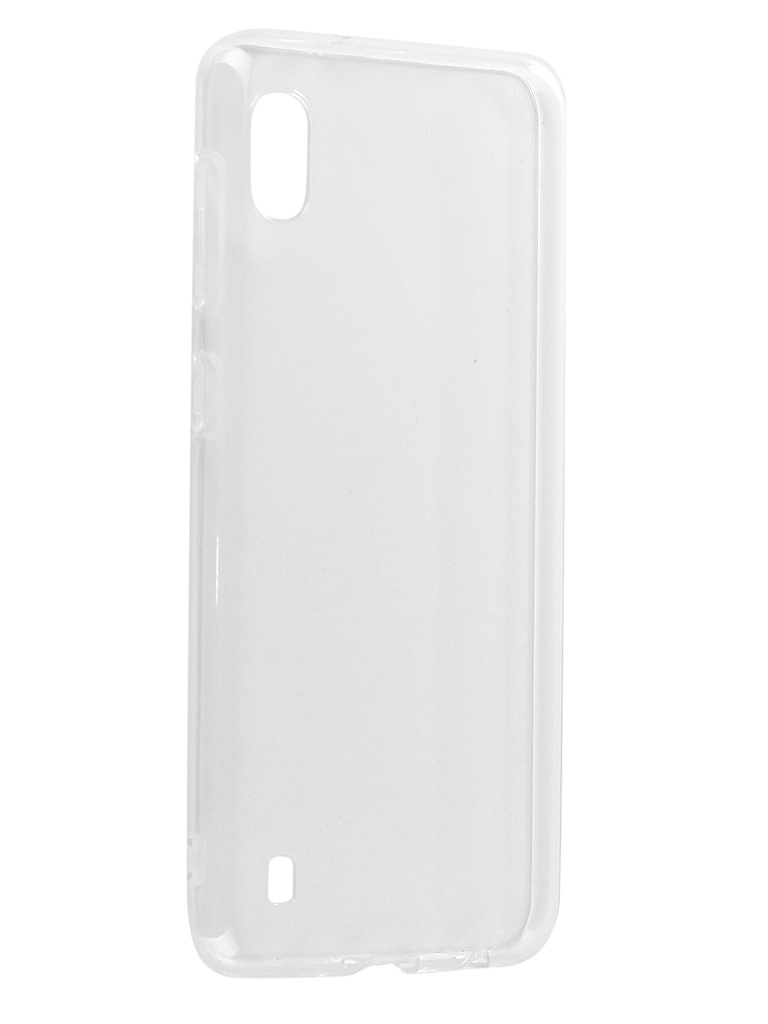 Аксессуар Чехол DF для Samsung Galaxy A10 Silicone Super Slim sCase-74 Transparent