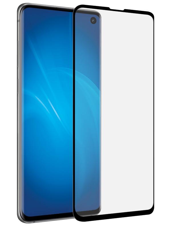 Закаленное стекло DF для Samsung Galaxy S10e Full Screen sColor-68 Black