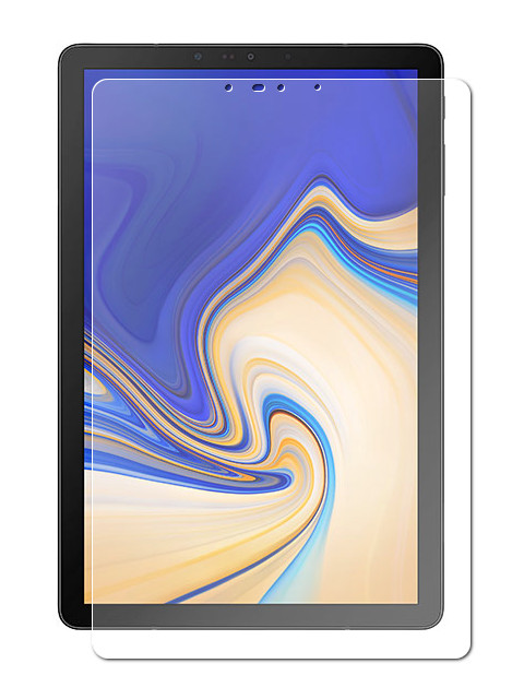 Аксессуар Закаленное стекло DF для Samsung Galaxy Tab S4 10.5 SM-T835N sSteel-68
