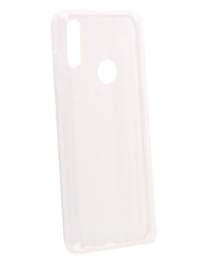 Аксессуар Чехол DF для Asus Zenfone Max Pro (M2) ZB631KL Silicone Super Slim aCase-52 Transparent