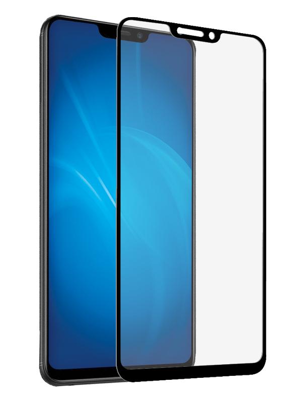 Закаленное стекло DF для Vivo Y81 Full Screen vColor-06 Black