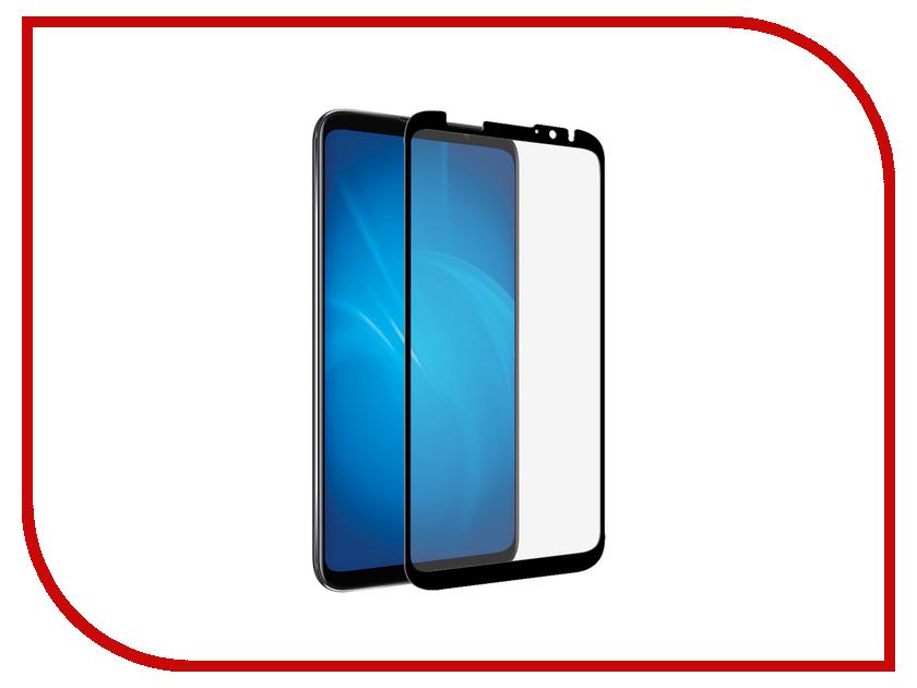Аксессуар Закаленное стекло для Meizu 16X DF Full Screen mzColor-29 Black аксессуар df czebra 01 blue black