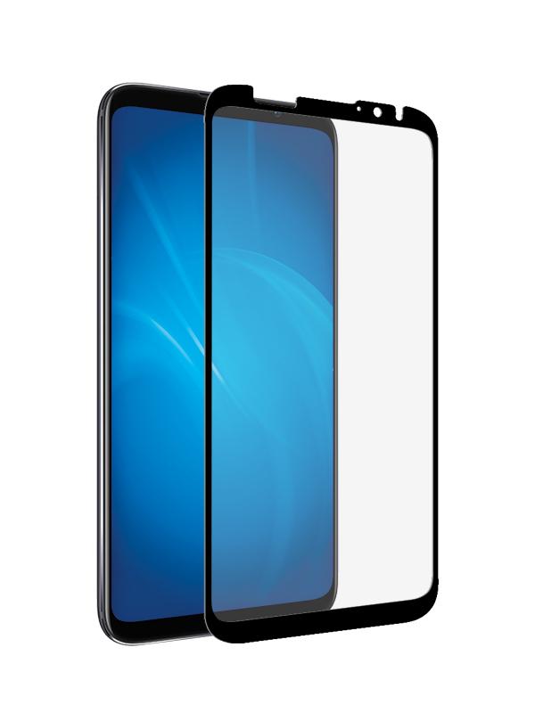 Аксессуар Закаленное стекло DF для Meizu 16X Full Screen mzColor-29 Black