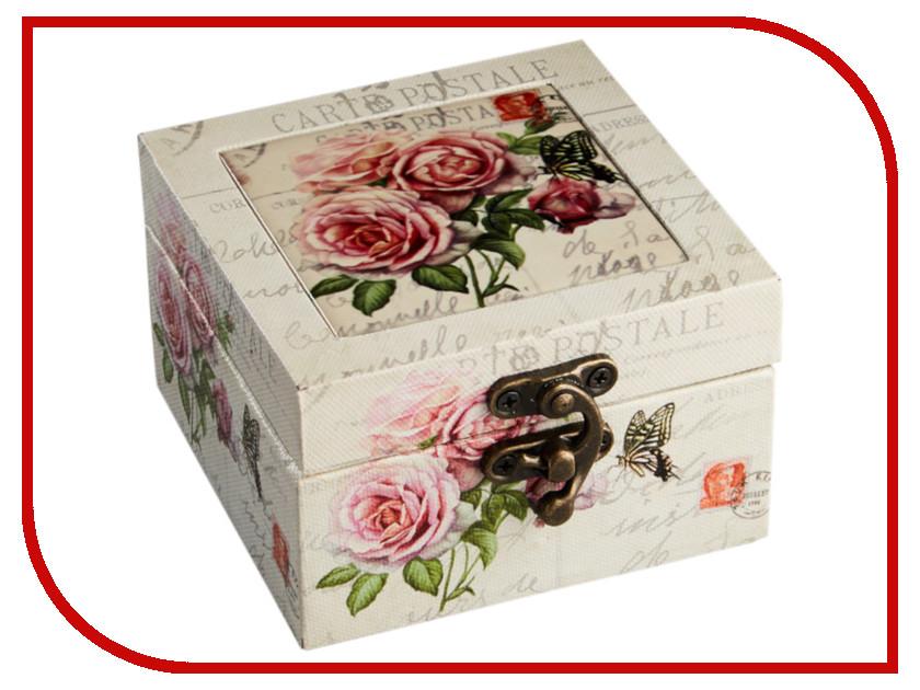 Шкатулка Moretto Розы 10.2x11x6.2cm С26-023/1 / 0R-00003504 crystalart арарат а 023 craа 023