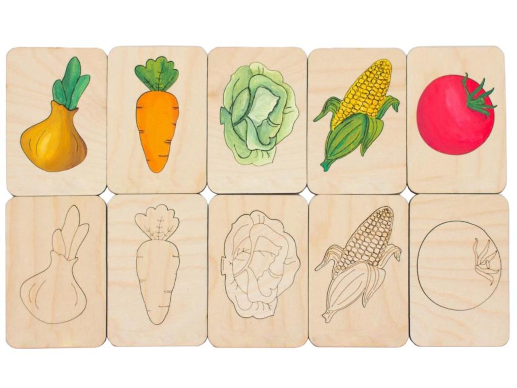 Фото - Карточки-раскраски Wood Machine Овощи 11495.01 3d wood carving machine price cnc