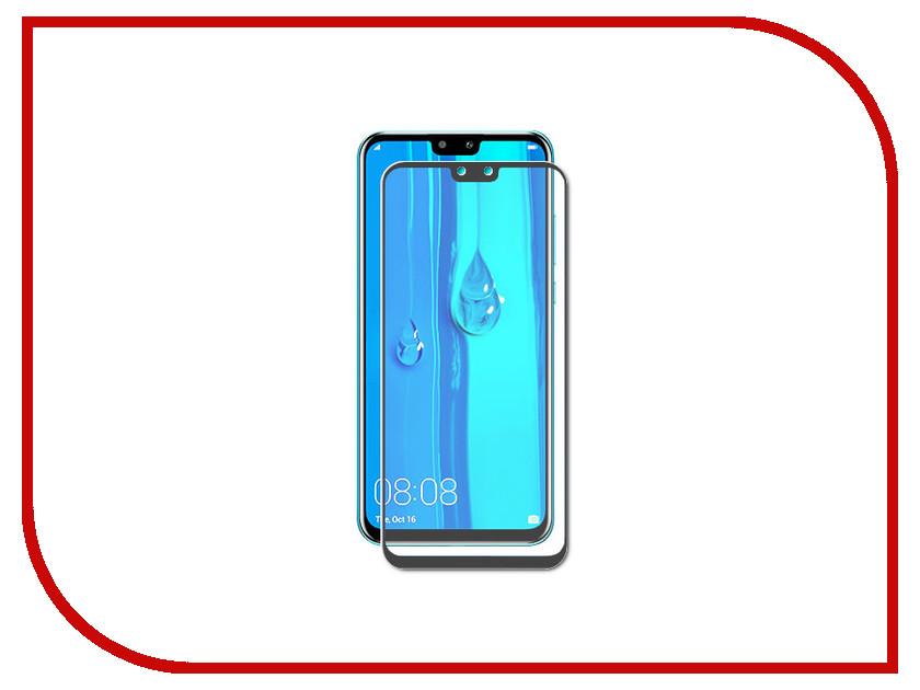 Аксессуар Защитное стекло для Huawei Y9 2019 CaseGuru Glue Full Screen 0.33mm Black 105014 защитное стекло caseguru для iphone x xs glue fs black