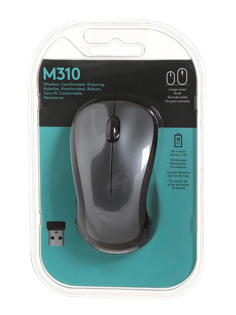 Мышь Logitech M310 Silver 910-003986 Выгодный набор + серт. 200Р!!!