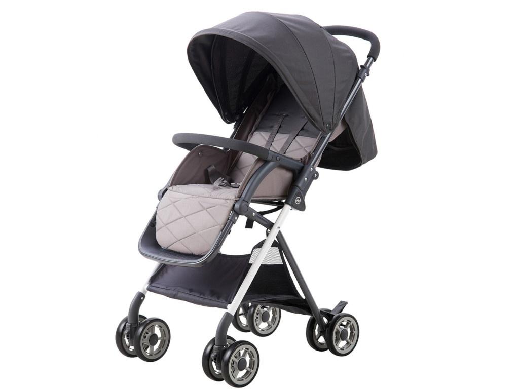 Коляска Happy Baby Mia Light Grey 4690624028410