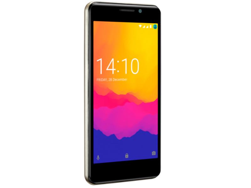 Сотовый телефон Prestigio Muze U3 LTE Gold мобильный телефон prestigio muze e5 lte черный