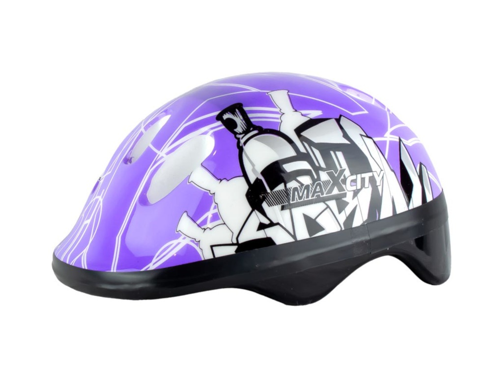 Шлем Maxcity Baby City S Purple шлем maxcity roller liner m white
