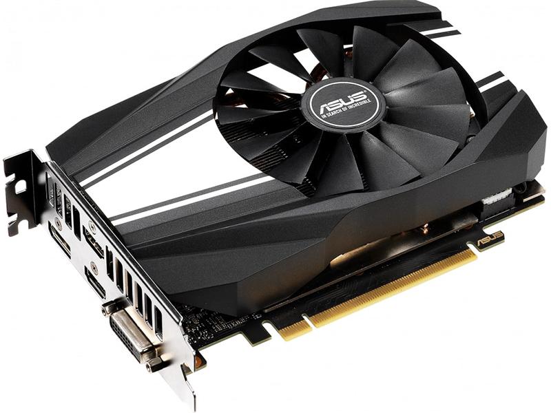 Видеокарта ASUS GeForce RTX 2060 Phoenix 1365Mhz PCI-E 3.0 6144Mb 14000Mhz 192 bit DP 2xHDMI DVI PH-RTX2060-6G