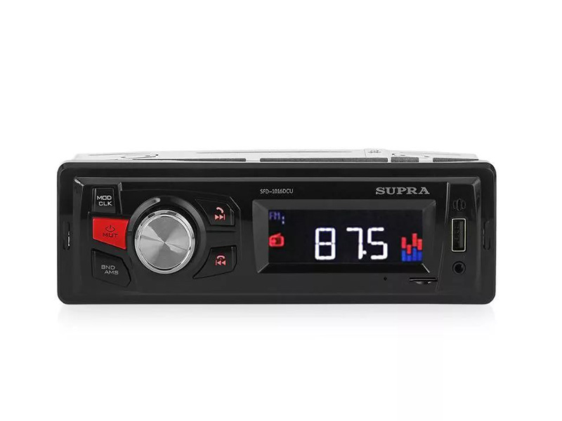 Автомагнитола SUPRA SFD-1016DCU midea q 301 sfd ss