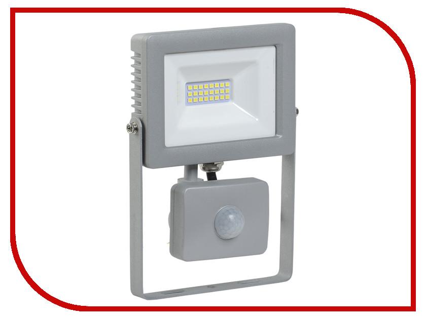 Прожектор IEK СДО 07-20Д IP44 Grey LPDO702-20-K03
