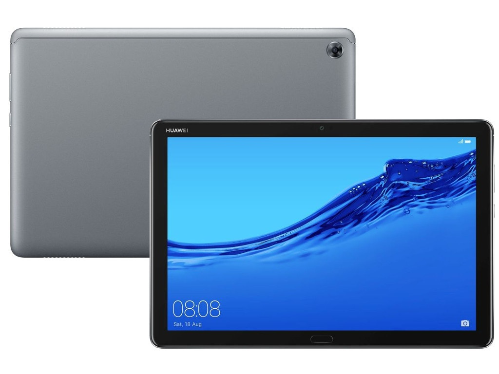 Планшет Huawei MediaPad M5 Lite 10 BAH2-W19 32Gb Space Gray 53010DKA New Выгодный набор + серт. 200Р!!!