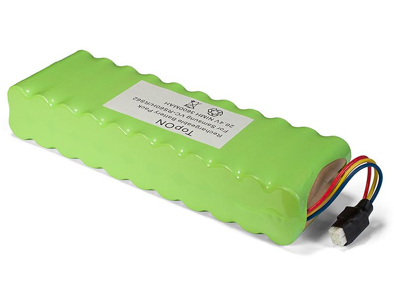 TopON Аккумулятор TOP-SAVC для Samsung VC-RS60 / VC-RS60H / VC-RS62 / VC-RS62H Hauzen Series. 26.4V 3600mAh Ni-MH. PN: DJ96-0079A / EBVB-157 2QTY 1012 клавиатура topon gateway nx570 pn v030946bs1 top 100507 черный