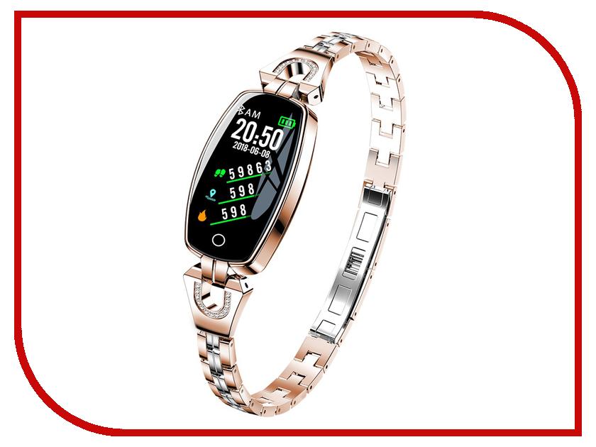 Умный браслет ZDK H8 Gold умный браслет zdk h8 silver%2
