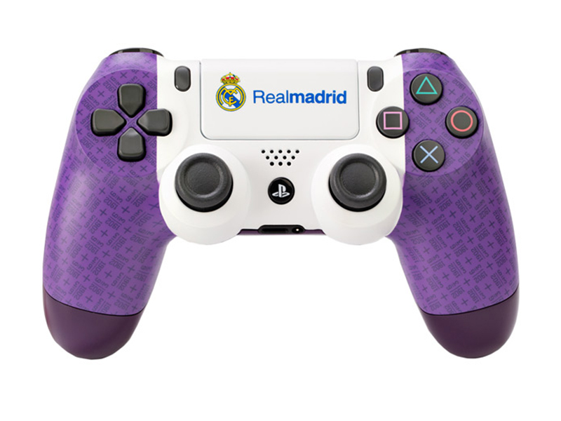 Геймпад Rainbo Sony Dualshock 4 Реал Мадрид. Один клуб, один цвет RBW-DS047