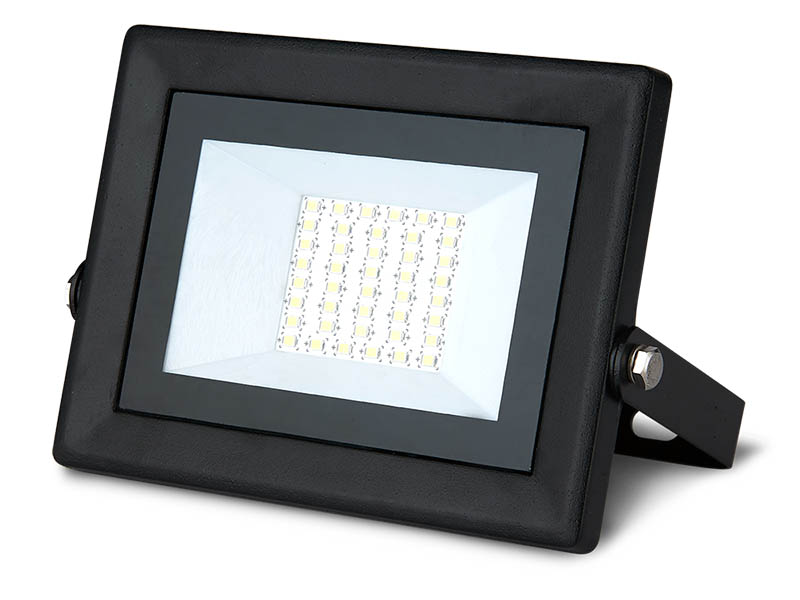 Прожектор Gauss LED Qplus 50W 4500Lm IP65 6500К Black 613511350