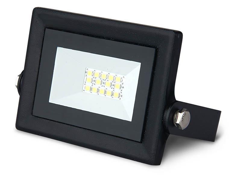 Прожектор Gauss LED Qplus 10W 900Lm IP65 6500К Black 613511310 ultrafire c8 ssc z7 900lm 3 mode white flashlight black 1 x 18650