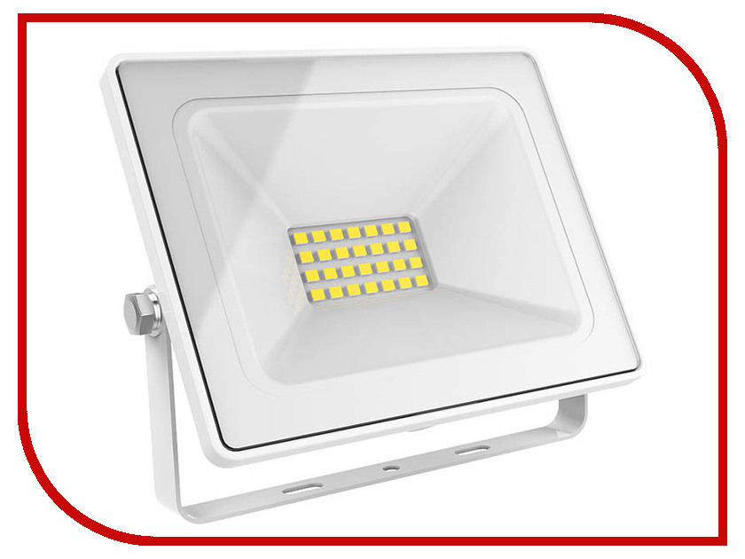 Прожектор Gauss LED 30W 2100Lm IP65 6500К White 613120330 waterproof ip65 2700lm 30w led flood light high power outdoor