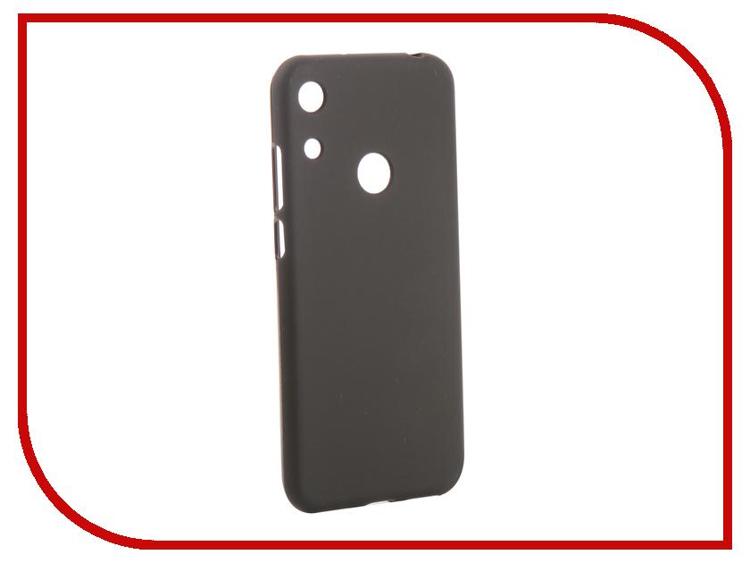 Аксессуар Чехол для Huawei Y6/Y6 Pro/Y6 Prime 2019 Svekla Silicone Black SV-HWY62019-MBL аксессуар чехол для samsung galaxy a5 2017 a520f svekla silicone black sv sga520f mbl
