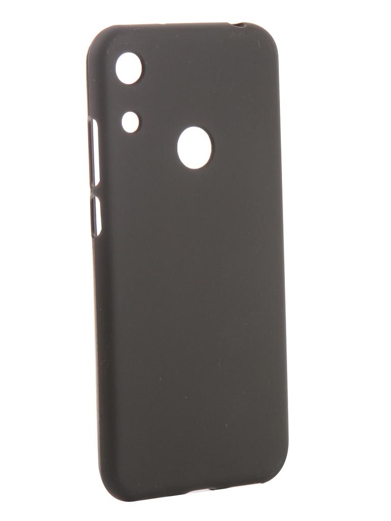 Аксессуар Чехол Svekla для Huawei Y6/Y6 Pro/Y6 Prime 2019 Silicone Black SV-HWY62019-MBL