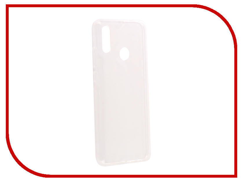 Аксессуар Чехол для Honor 10 Lite/Huawei P Smart 2019 Svekla Silicone Transparent SV-HWH10LITE-WH аксессуар чехол для huawei p smart 7s innovation silicone pink 12840