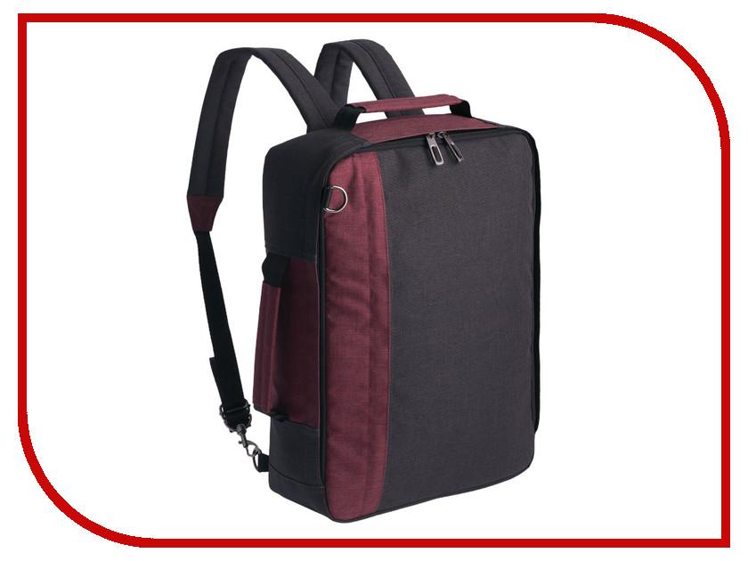 Рюкзак Indivo 2 в 1 twoFold Grey-Bordo 3324.15
