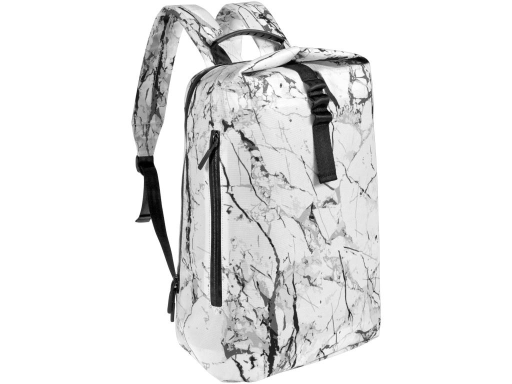 Рюкзак Проект 111 Marble White-Black 6897