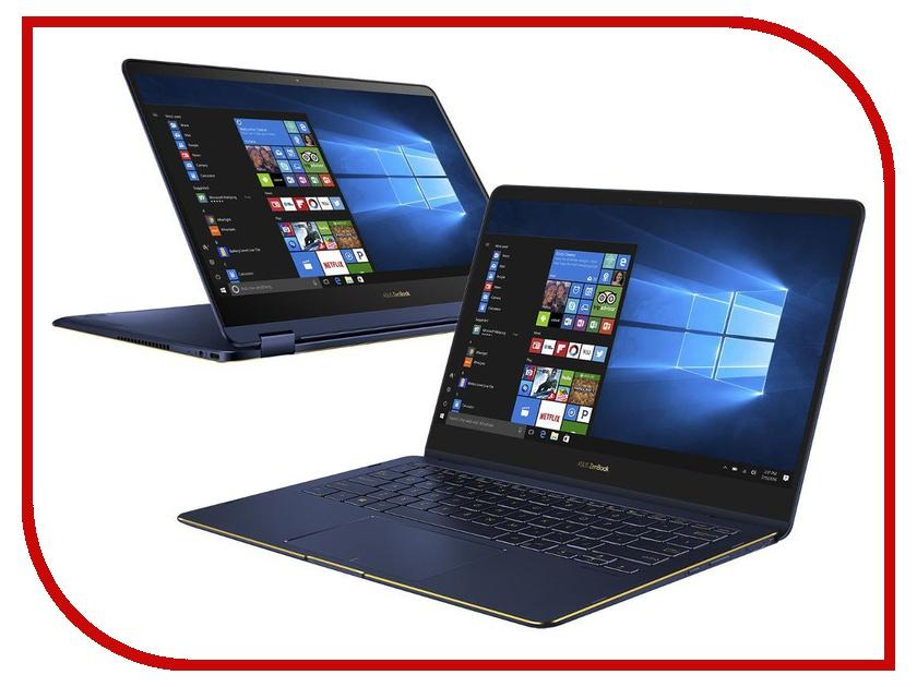 Ноутбук ASUS UX370UA-C4277T Blue 90NB0EN1-M09750 (Intel Core i5-8250U 1.6 GHz/8192Mb/256Gb SSD/Intel HD Graphics/Wi-Fi/Bluetooth/Cam/13.3/1920x1080/Touchscreen/Windows 10 64-bit)